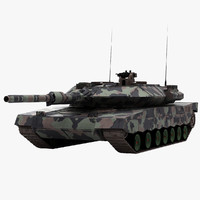 3d 2 german military tank