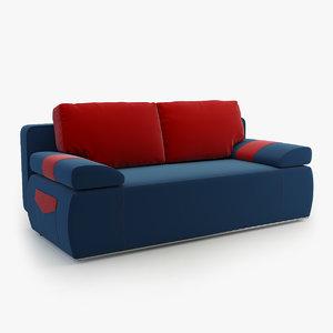3d sofa julie