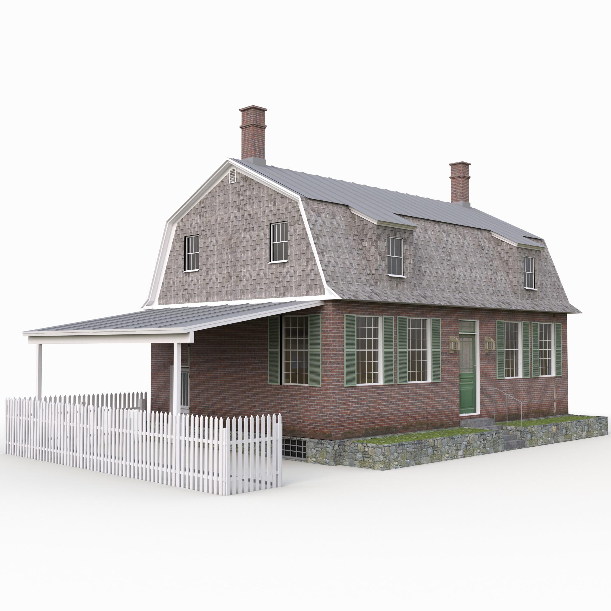 max gambrel house