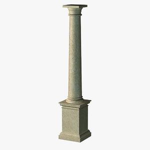 3ds max classic column