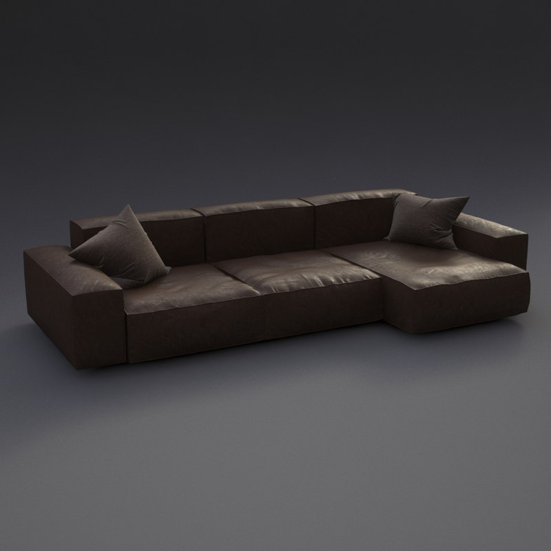 max realistic modern sofa