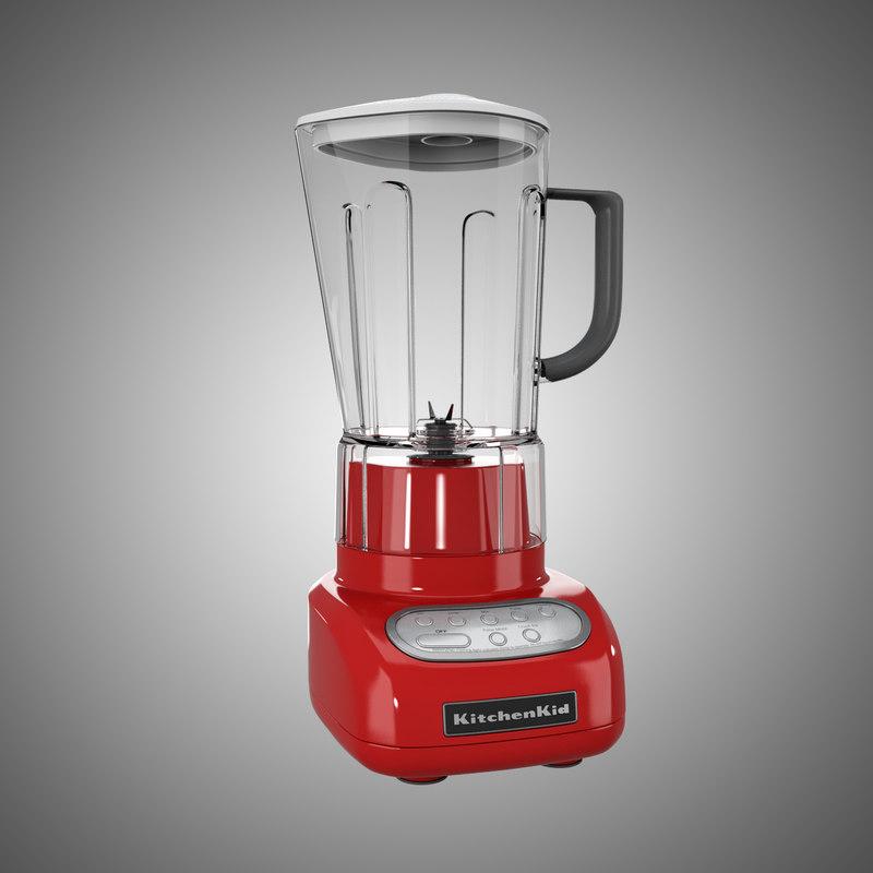 kitchen blender 3d model