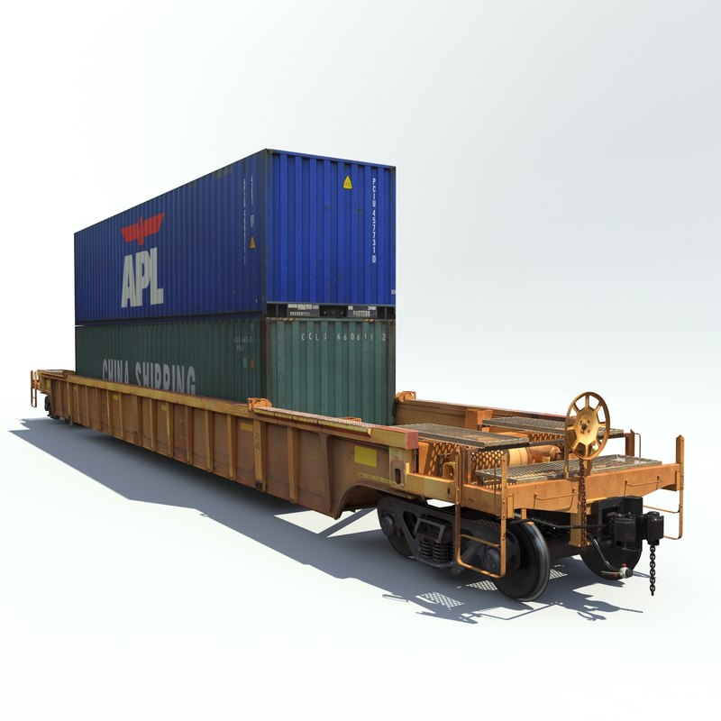max railway car rail cargo train