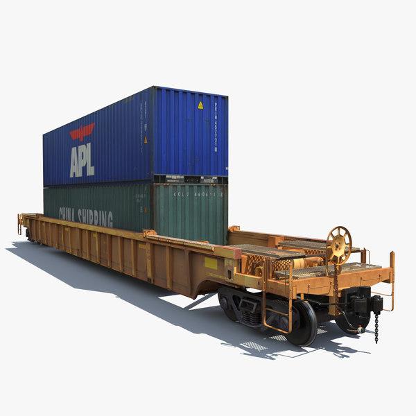 max railway car rail cargo train