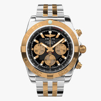 Breitling Chronomat Steel Gold Virtual Model