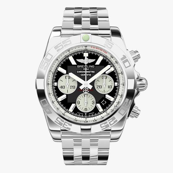 breitling chronomat steel modeled max