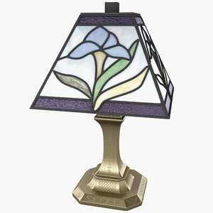 irene mini accent lamp 3d model