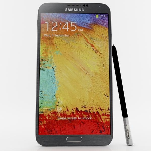 3d samsung galaxy note 3 model
