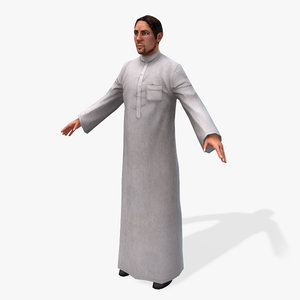 3d games arabic civilians male model