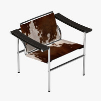 corbusier lc1 chair 3ds
