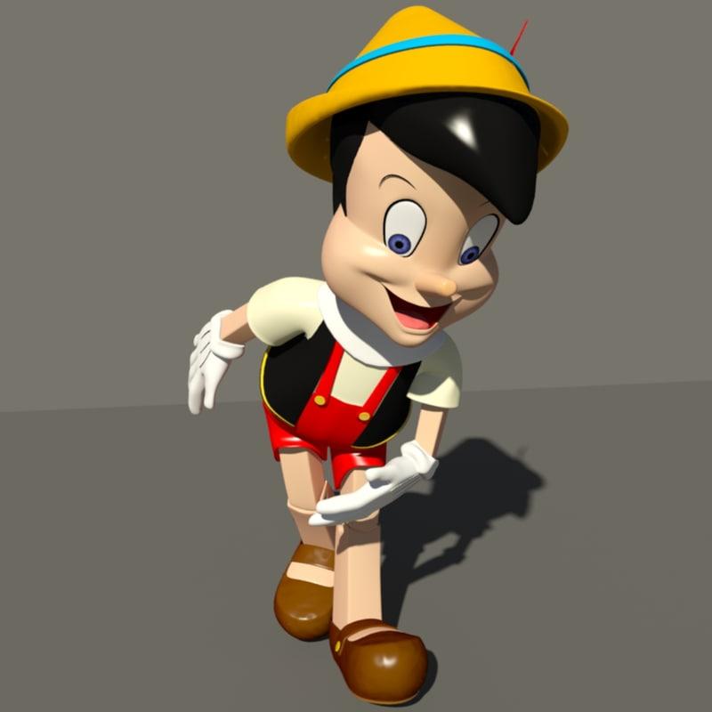 pinocchio rigging animation max