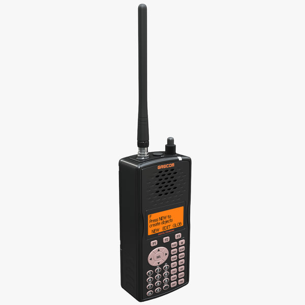 handheld scanner gre psr500 3d 3ds