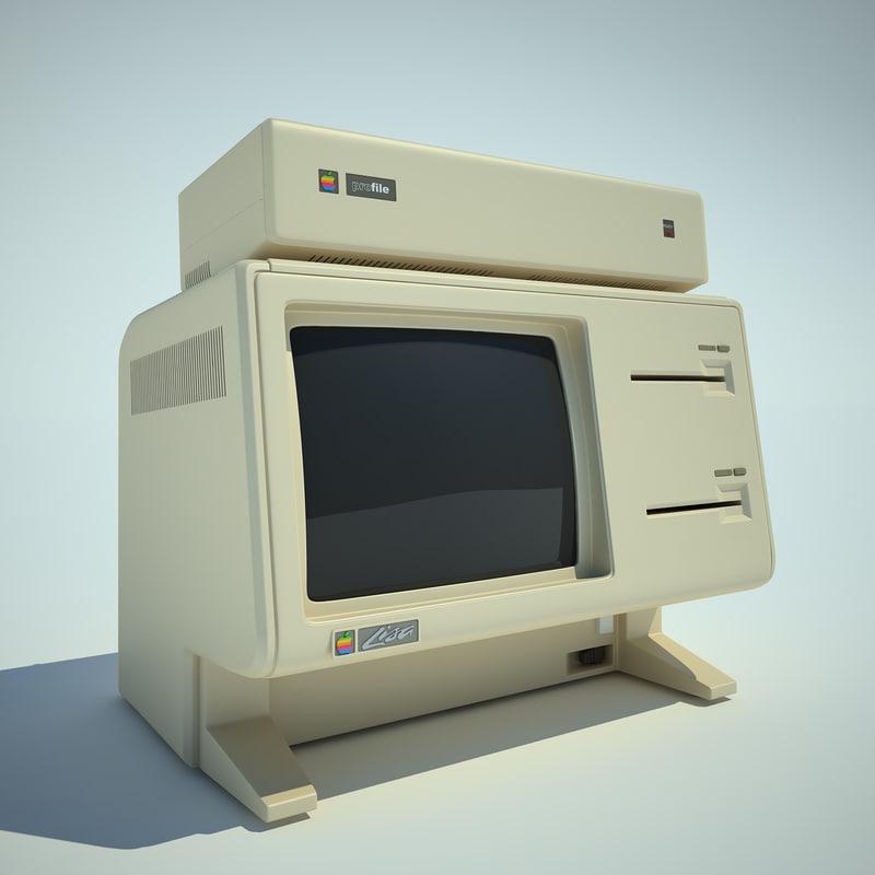 apple lisa computer 3ds