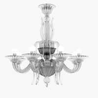Barovier&Toso Fauve Murano Glass  Chandelier