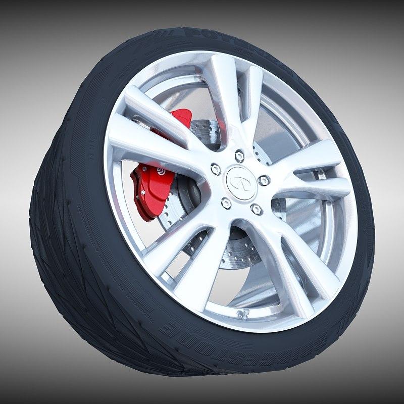 max infiniti wheel
