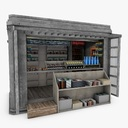 newsstand 3D models