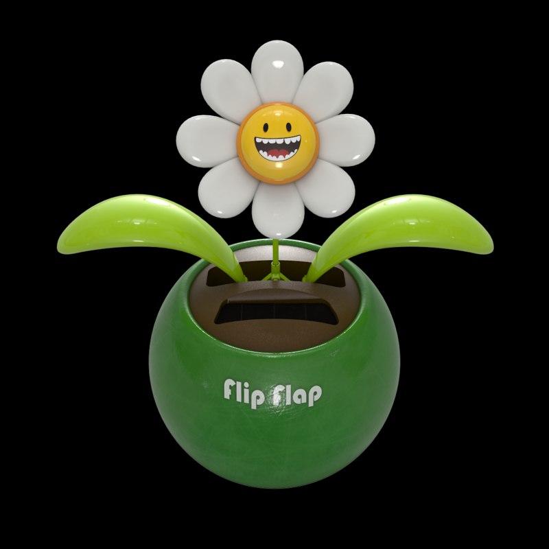 3ds max fun dancing flower