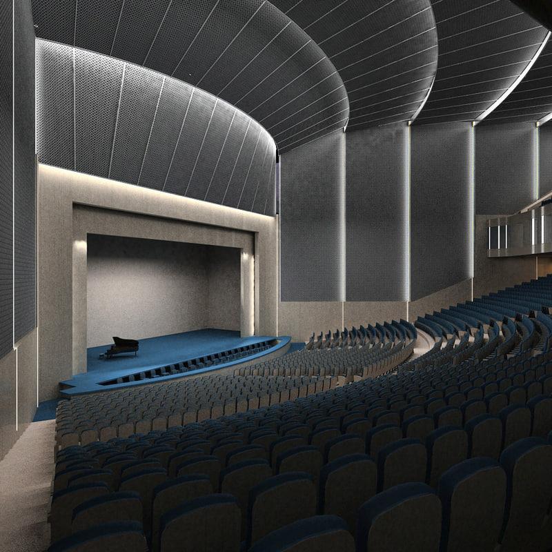 auditorium theater max