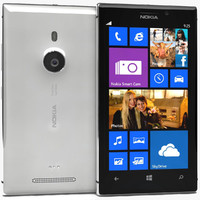 3d nokia lumia 925 gray