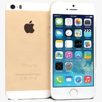 apple iphone 5s gold obj