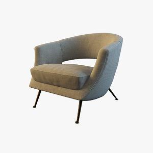 coctail chair 3d model