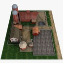 farmhouse 3D models