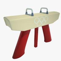 Gymnastics Pommel Horse 01