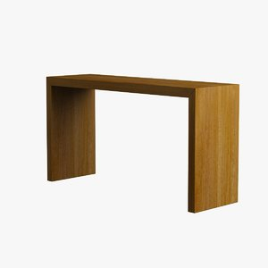 living room table wood 3d max