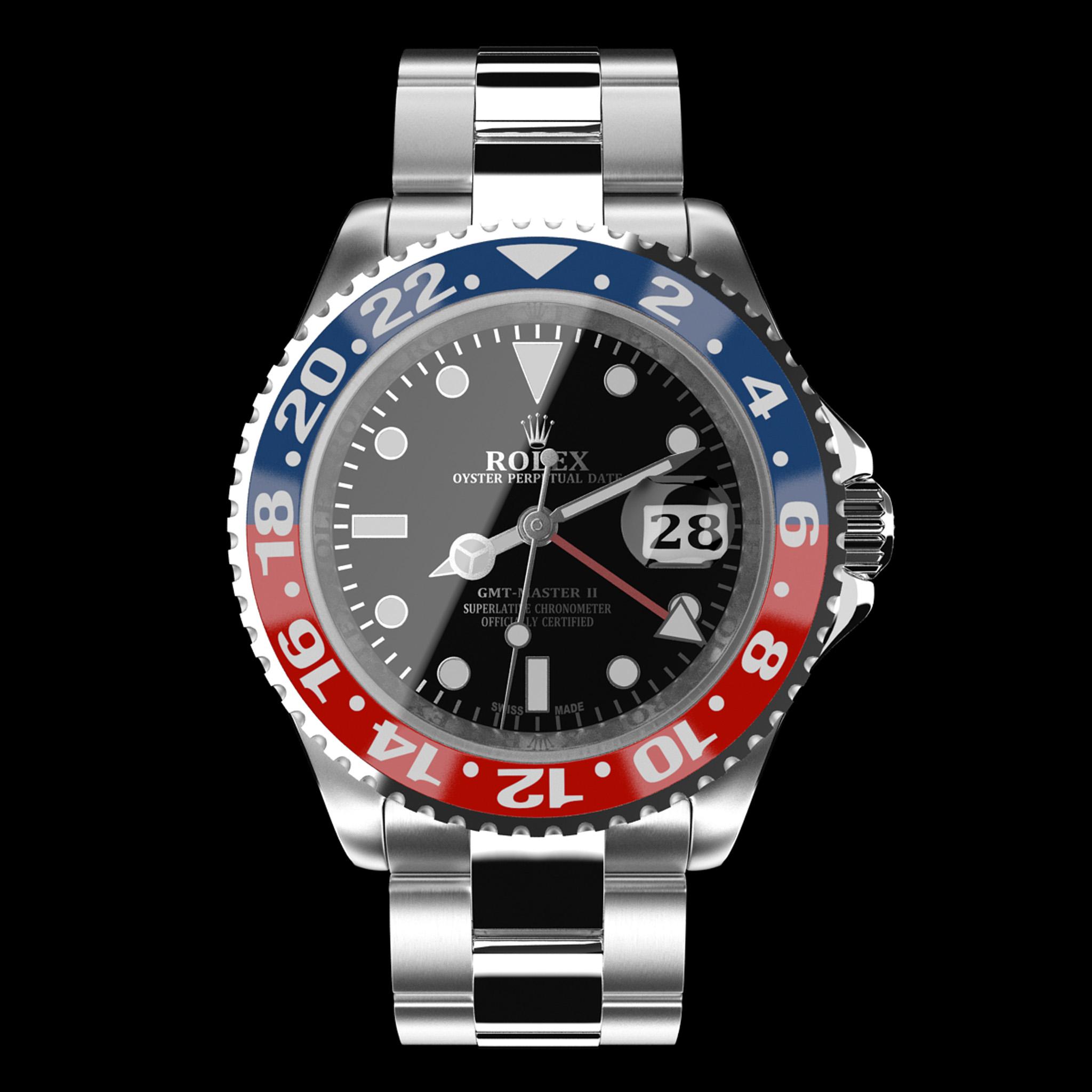 Rolex GMT,Master II Pepsi