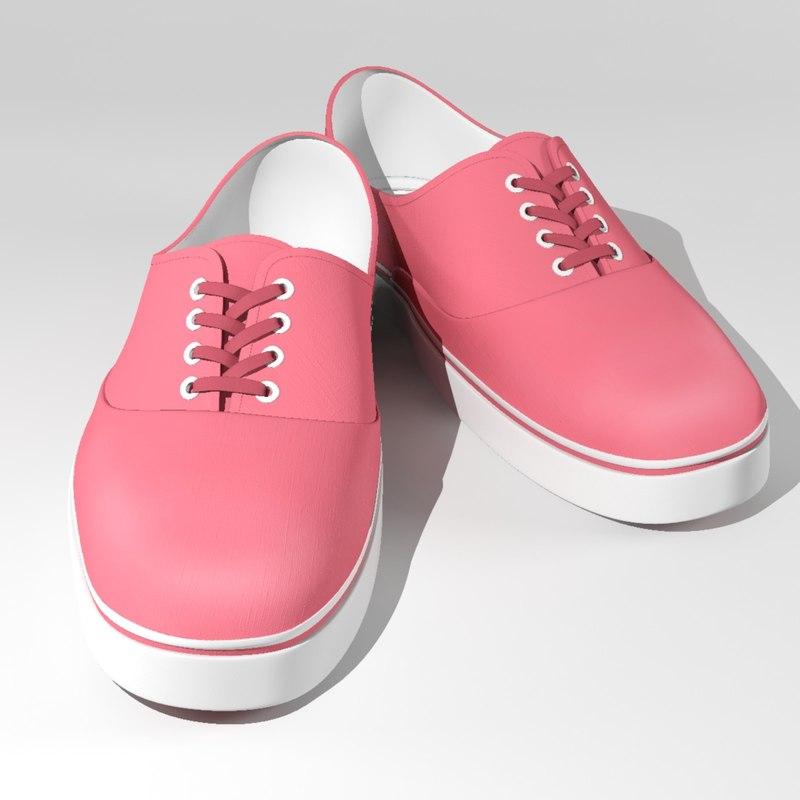 3ds max shoes cartoons