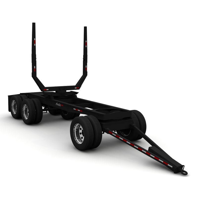 3d model long logger