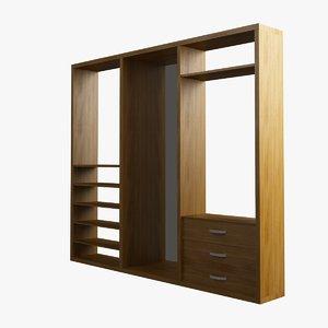 max dresser wood glass