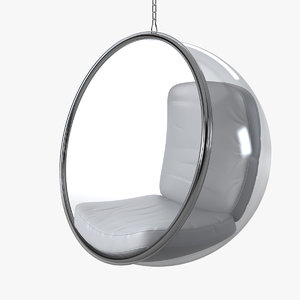 bubble chair aarnio eero 3d 3ds