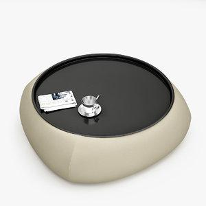 3d model pouf table
