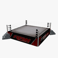 wrestling ring wwe