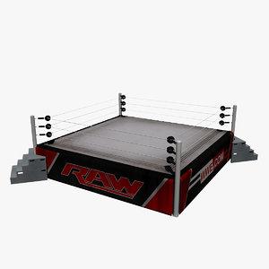 wrestling ring wwe
