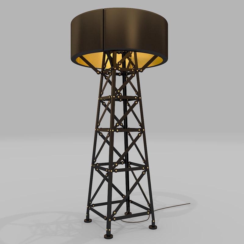 3d moooi construction lamp