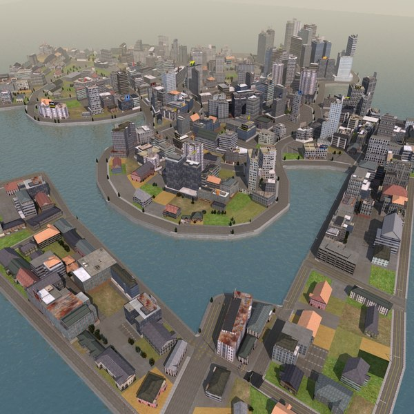 island race city 3d lwo