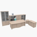 office furniture collections 3D models