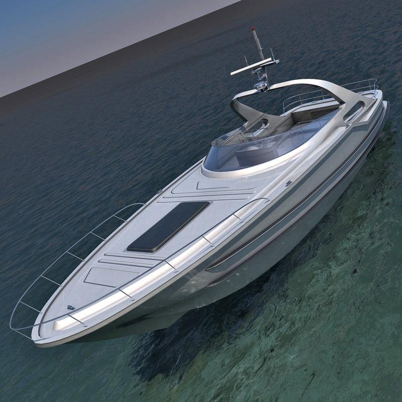 3d max luxury yacht