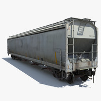 Rail Hopper Car