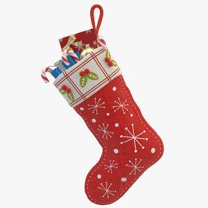 christmas sock 02