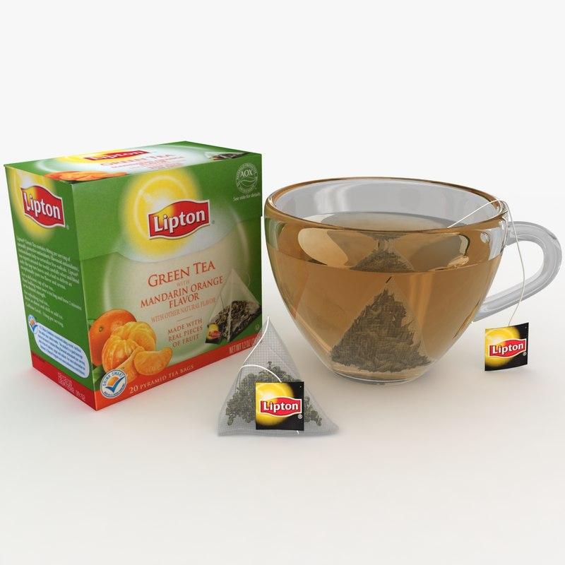 lipton green tea mandarin fbx