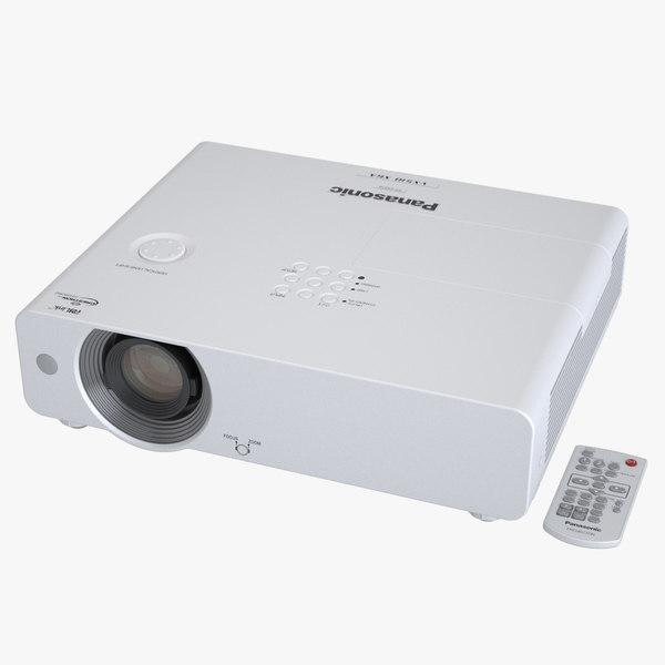 3d photoreal projector panasonic model