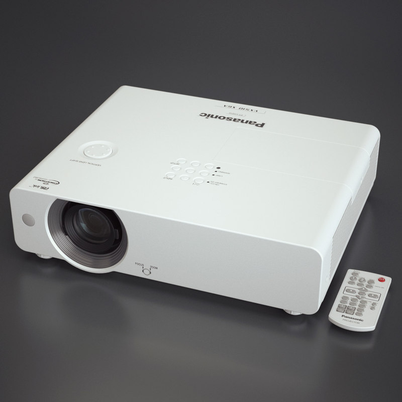 3d photoreal projector panasonic model
