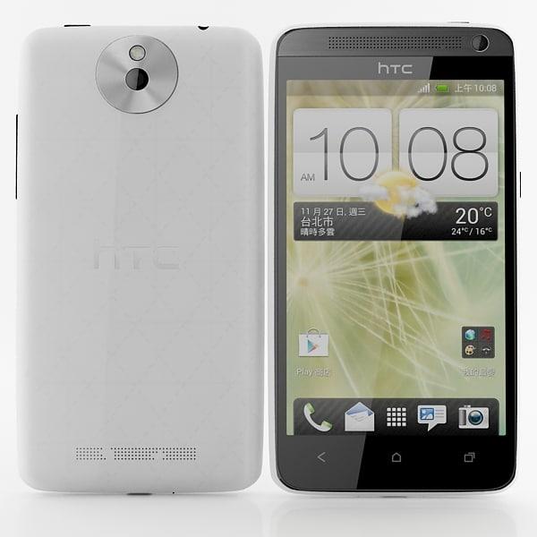 htc desire 501 white 3d max