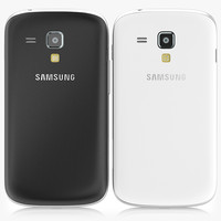 Samsung Galaxy Trend Plus Black And White