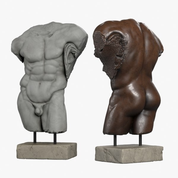 torso hercules 3d max