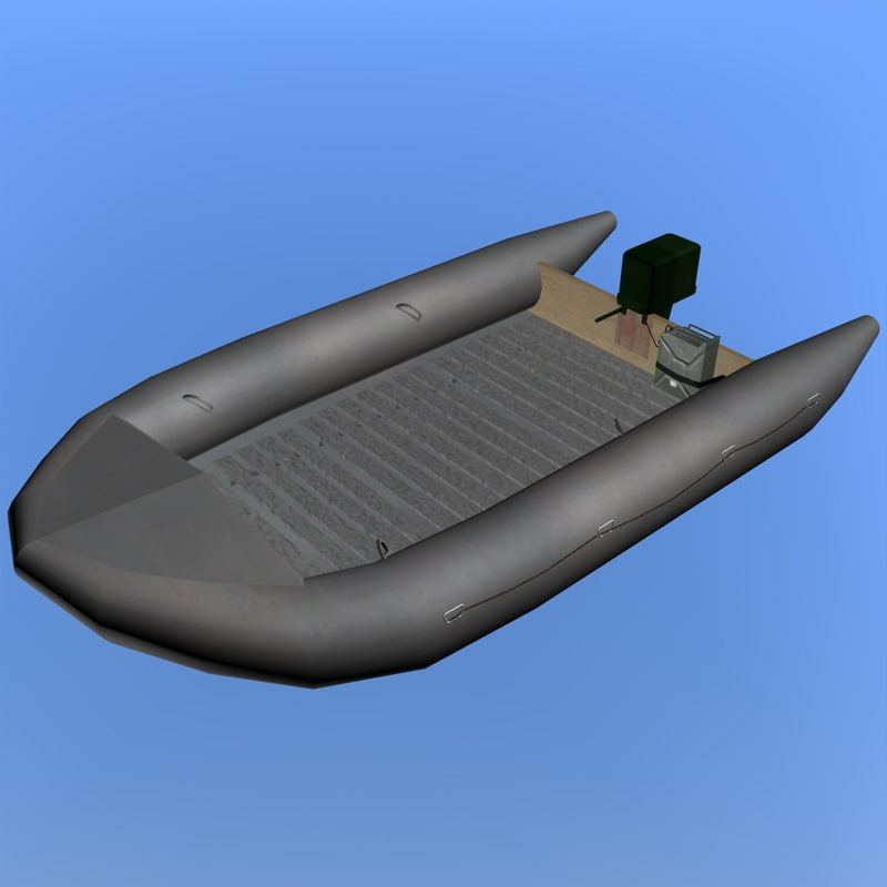 german navy rubber dinghy x