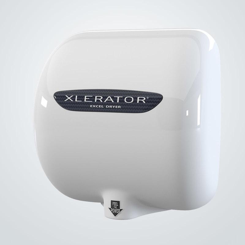 3d excel hand dryer exlerator